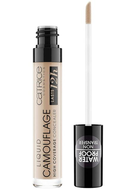 Catrice's Liquid Camouflage High Coverage Conceale is water resistant